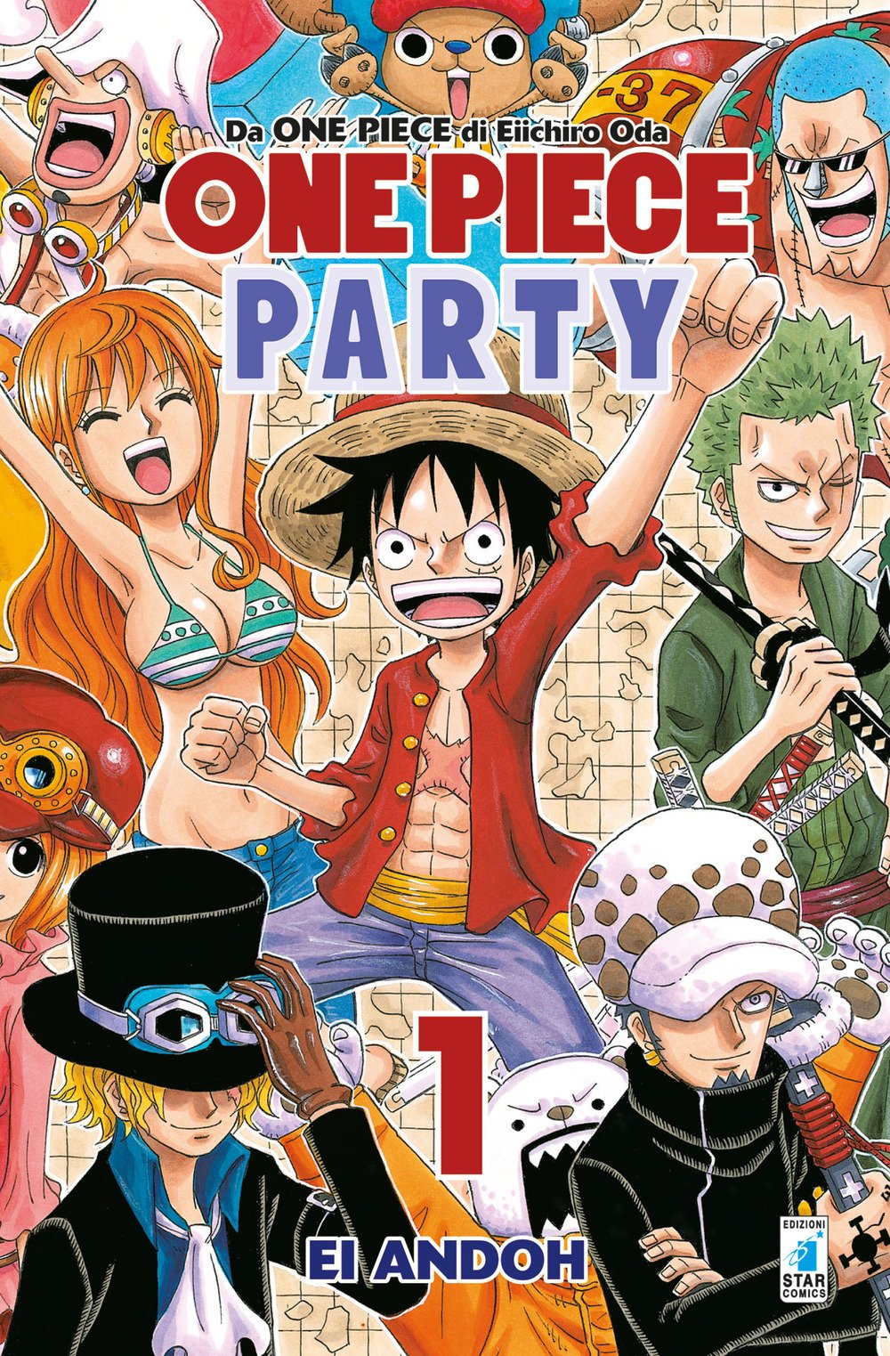 One Piece Party: si conclude il manga