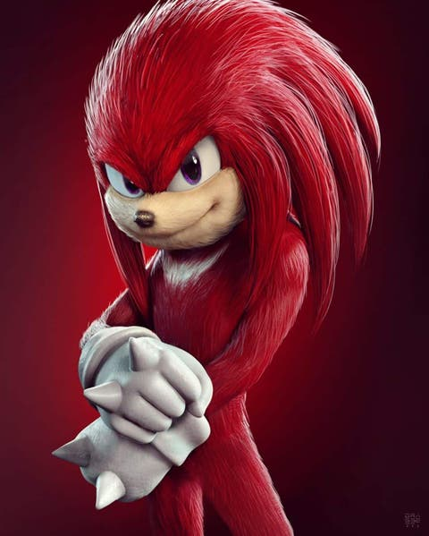 sonic 2 -Knuckles