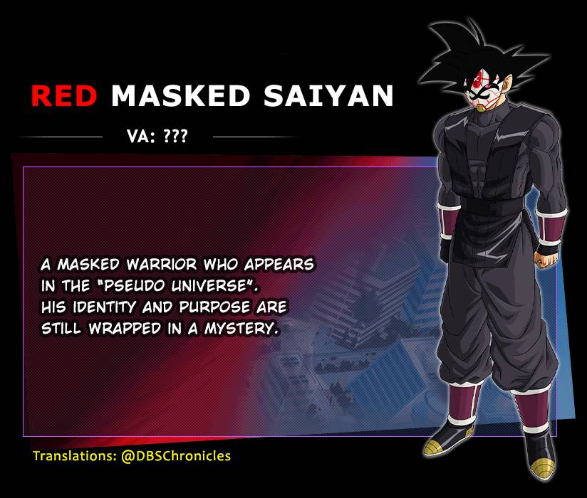 Super Dragon Ball Heroes: opening e character design di Space-Time War