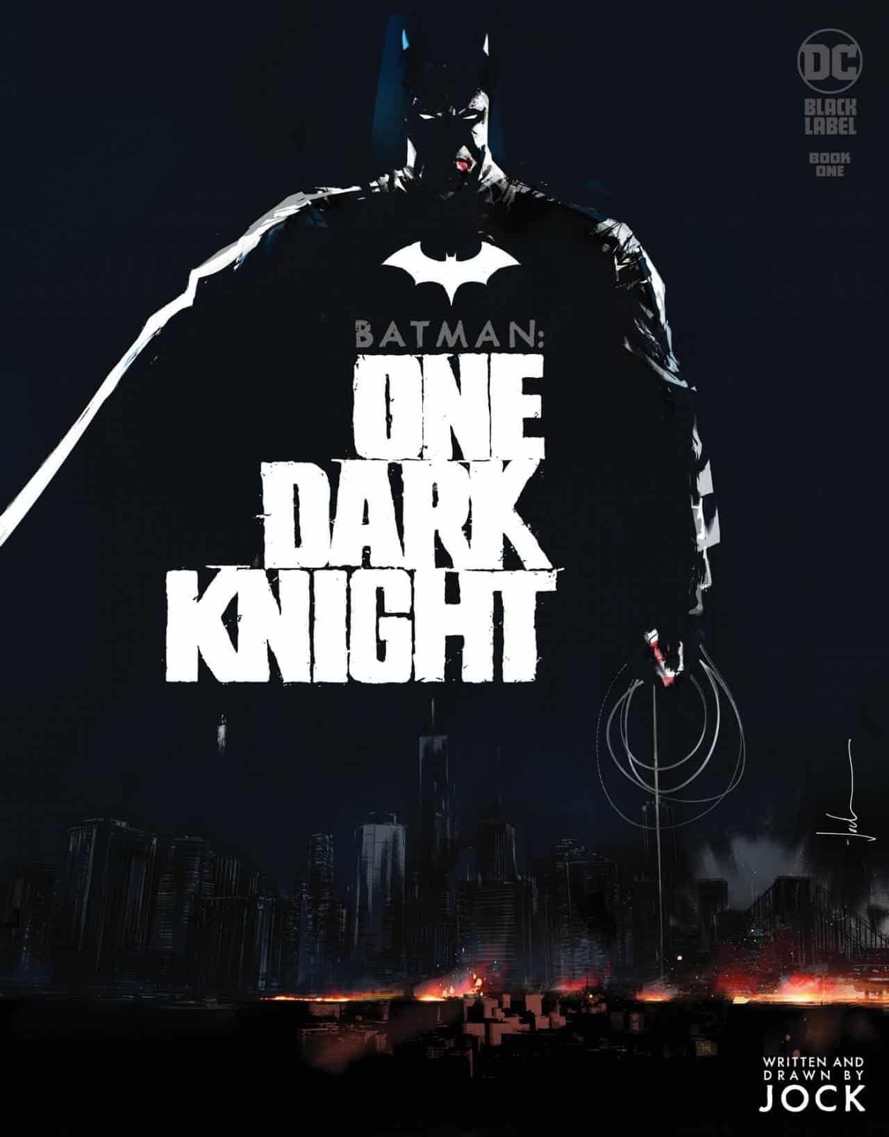Batman: One Dark Knight di Jock annunciato per DC Black Label –  MangaForever.net