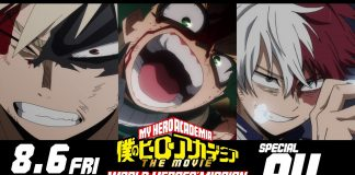 My Hero Academia - World Heroes' Missions special pv